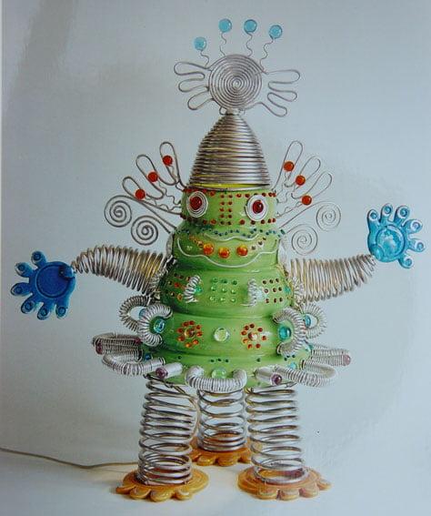 Sculpture grenouille