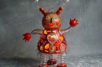 Sculpture Chaperon rouge