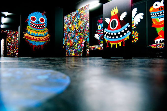 Skwak, artiste peintre street art